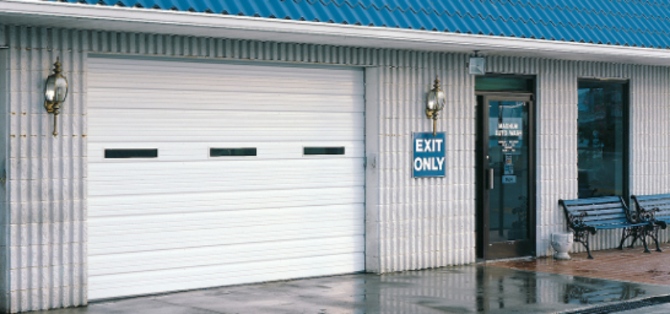 Halls Garage Doors Commercial Styles In Roanoke